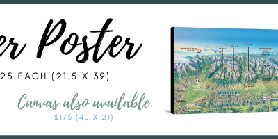 14er Posters & Canvas Prints – Perfect Decor for Your BV Home!