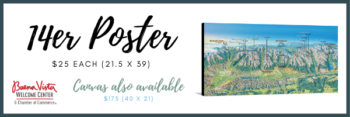 14er Posters & Canvas Prints – Enjoy the beauty of the 14ers from your home!