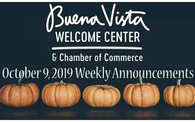 10-09-2019 Weekly Announcements