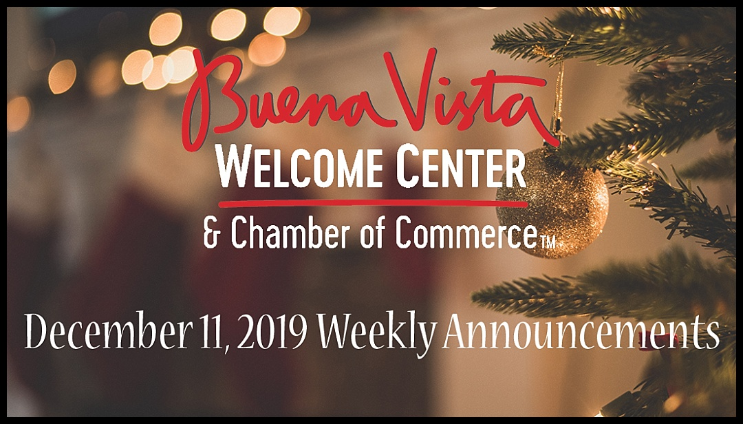 12-11-2019 Weekly Announcements