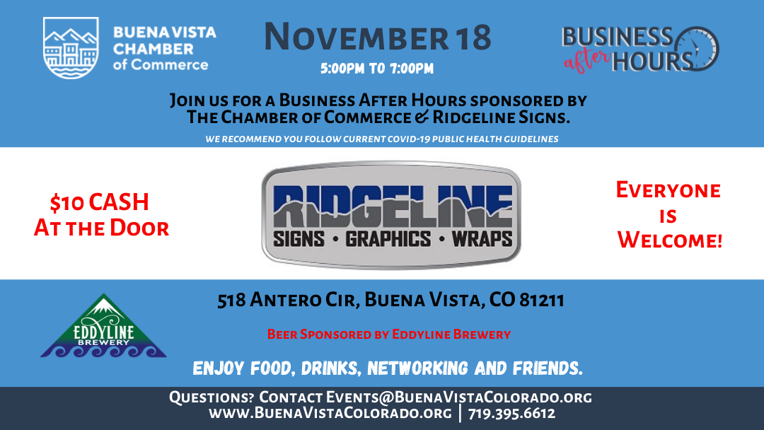 Next Business After Hours – Thursday, November 18th