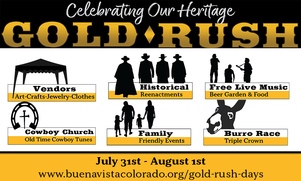 Gold Rush Days: Celebrating Our Heritage – Buena Vista Depot Event Schedule
