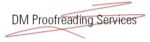 DM Proofreading Services