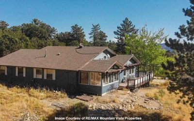 Nearly 4 Acres of Blissful Mountain Living!