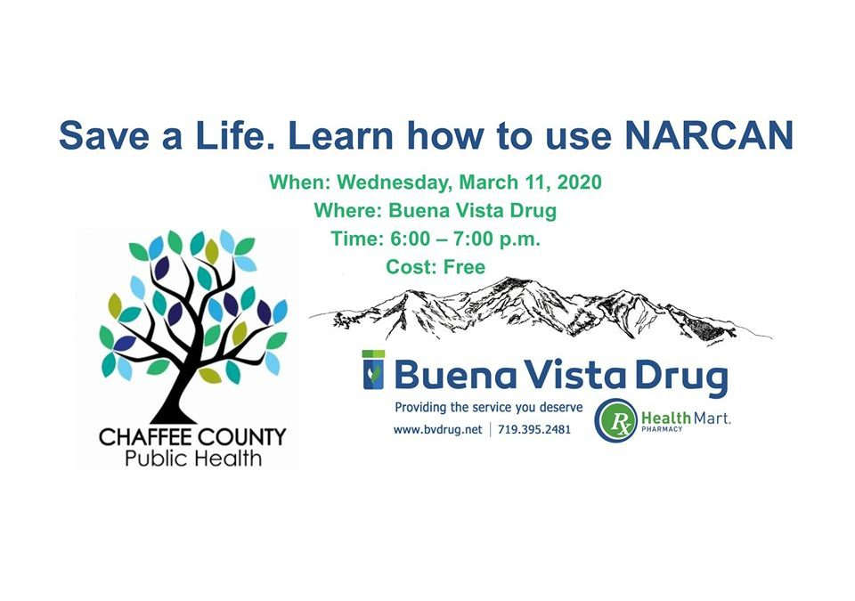 Save a Life. Learn how to use Narcan