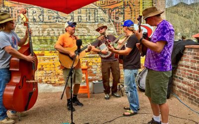 Dvorak Expeditions Invites You To the Arkansas River Bluegrass Roustabout– Browns Canyon National Monument